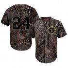 Cheap Rangers #24 Hunter Pence Camo Realtree Collection Cool Base Stitched Youth MLB Jersey