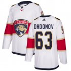 Cheap Adidas Panthers #63 Evgenii Dadonov White Road Authentic Stitched Youth NHL Jersey
