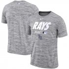 Cheap Tampa Bay Rays Nike Authentic Collection Velocity Team Issue Performance T-Shirt Gray