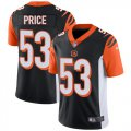 Cheap Nike Bengals #53 Billy Price Black Team Color Youth Stitched NFL Vapor Untouchable Limited Jersey