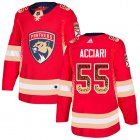Cheap Adidas Panthers #55 Noel Acciari Red Home Authentic Drift Fashion Stitched NHL Jersey