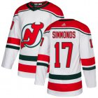 Cheap Adidas Devils #17 Wayne Simmonds White Alternate Authentic Stitched NHL Jersey