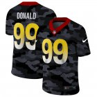Cheap Los Angeles Rams #99 Aaron Donald Men's Nike 2020 Black CAMO Vapor Untouchable Limited Stitched NFL Jersey