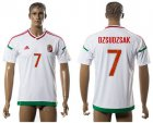 Cheap Hungary #7 Dzsudzsak Away Soccer Country Jersey
