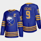 Cheap Buffalo Sabres #9 Jack Eichel Men's Adidas 2020-21 Home Authentic Player Stitched NHL Jersey Royal Blue