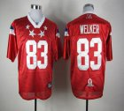Cheap Patriots #83 Wes Welker Red 2012 Pro Bowl Stitched NFL Jersey
