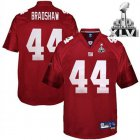 Cheap Giants #44 Ahmad Bradshaw Red Super Bowl XLVI Embroidered NFL Jersey