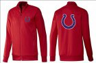 Cheap NFL Indianapolis Colts Team Logo Jacket Red