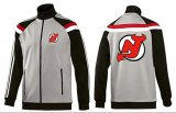 Cheap NHL New Jersey Devils Zip Jackets Grey