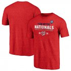 Cheap Washington Nationals Majestic 2019 World Series Champions Complete Game T-Shirt Heather Red