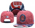 Cheap MLB Chicago Cubs Snapback Ajustable Cap Hat YD 9