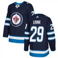 Cheap Adidas Jets #29 Patrik Laine Navy Blue Home Authentic Stitched Youth NHL Jersey