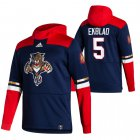 Cheap Florida Panthers #5 Aaron Ekblad Adidas Reverse Retro Pullover Hoodie Navy