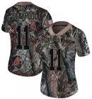 Cheap Nike Steelers #11 Chase Claypool Camo Women's Stitched NFL Limited Rush Realtree Jersey