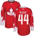 Cheap Team CA. #44 Marc-Edouard Vlasic Red 2016 World Cup Stitched NHL Jersey