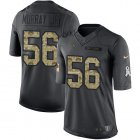 Cheap Nike Chargers #56 Kenneth Murray Jr Black Youth Stitched NFL Limited 2016 Salute to Service Jersey