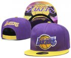 Cheap Los Angeles Lakers Snapback Ajustable Cap Hat YD 21