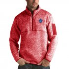 Cheap Toronto Maple Leafs Antigua Fortune Quarter-Zip Pullover Jacket Red
