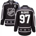 Cheap Oilers #97 Connor McDavid Black 2017 All-Star Pacific Division Stitched NHL Jersey