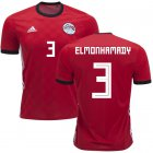 Cheap Egypt #3 Elmonhamady Red Home Soccer Country Jersey