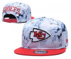 Cheap Chiefs Team Logo Smoke Red Adjustable Hat TX