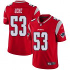 Cheap Nike Patriots #53 Josh Uche Red Youth Stitched NFL Limited Inverted Legend Jersey