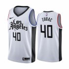 Cheap Nike Clippers #40 Ivica Zubac 2019-20 White Los Angeles City Edition NBA Jersey