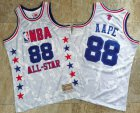 Cheap 1988 All-Star AAPE x MITCHELL & NESS White Jersey