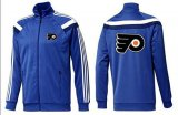Cheap NHL Philadelphia Flyers Zip Jackets Blue-3
