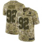 Cheap Nike Panthers #92 Zach Kerr Camo Youth Stitched NFL Limited 2018 Salute To Service Jersey