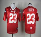 Cheap Texans #23 Arian Foster Red 2012 Pro Bowl Stitched NFL Jersey