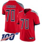 Cheap Nike Titans #70 Ty Sambrailo Red Youth Stitched NFL Limited Inverted Legend 100th Season Jersey