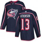 Cheap Adidas Blue Jackets #13 Cam Atkinson Navy Blue Home Authentic Stitched Youth NHL Jersey