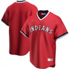 Cheap Cleveland Indians Nike Road Cooperstown Collection Team MLB Jersey Red