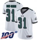 Cheap Nike Eagles #31 Nickell Robey-Coleman White Men's Stitched NFL 100th Season Vapor Untouchable Limited Jersey
