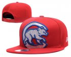 Cheap MLB Chicago Cubs Snapback Ajustable Cap Hat YD 2