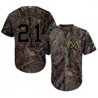 Cheap marlins #21 Curtis Granderson Camo Realtree Collection Cool Base Stitched MLB Jersey