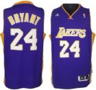 Cheap Los Angeles Lakers #24 Kobe Bryant Revolution 30 Swingman Purple Jersey