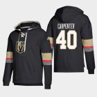 Cheap Vegas Golden Knights #40 Ryan Carpenter Black adidas Lace-Up Pullover Hoodie