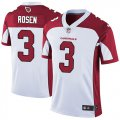 Cheap Nike Cardinals #3 Josh Rosen White Men's Stitched NFL Vapor Untouchable Limited Jersey