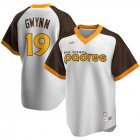 Cheap San Diego Padres #19 Tony Gwynn San Nike Home Cooperstown Collection Player MLB Jersey White