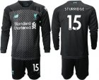 Cheap Liverpool #15 Sturridge Third Long Sleeves Soccer Club Jersey