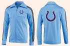 Cheap NFL Indianapolis Colts Team Logo Jacket Light Blue_2