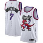 Cheap Raptors #7 Kyle Lowry White Basketball Swingman Hardwood Classics Jersey