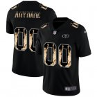 Cheap San Francisco 49ers Custom Carbon Black Vapor Statue Of Liberty Limited NFL Jersey