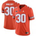 Cheap Florida Gators 30 DeAndre Goolsby Orange College Football Jersey