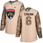 Cheap Adidas Panthers #6 Anton Stralman Camo Authentic 2017 Veterans Day Stitched NHL Jersey