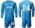 Cheap Juventus #24 Rugani Third Long Sleeves Soccer Club Jersey