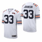 Cheap Men's Chicago Bears #33 Jaylon Johnson White Classic Jersey 2020 NFL Draft