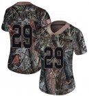 Cheap Nike Giants #29 Xavier McKinney Camo Women's Stitched NFL Limited Rush Realtree Jersey